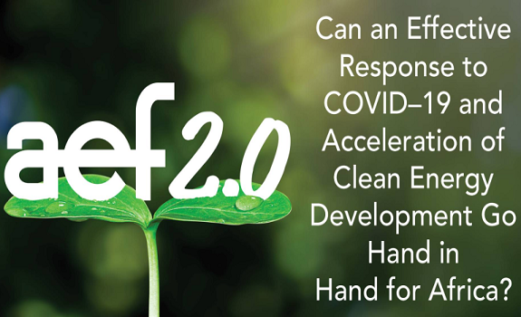 Can an Effective Response to COVID–19 and Acceleration of Clean Energy Development Go Hand in Hand for Africa? image