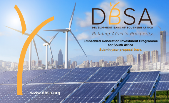DBSA Opens Call for Proposals for Embedded Generation Investment Programme in South Africa image
