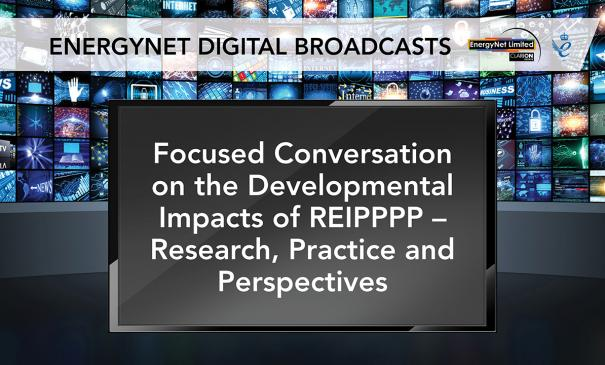 Focused Conversation on the Developmental Impacts of REIPPPP – Research, Practice and Perspectives image