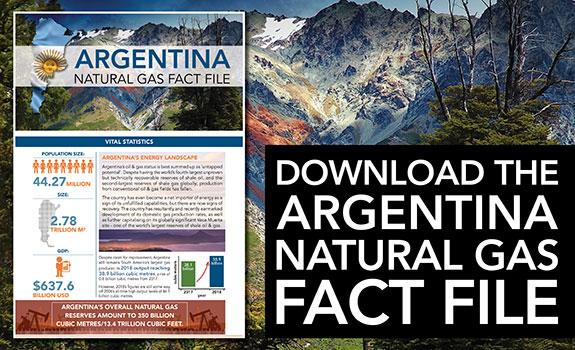 Argentina Natural Gas Fact File image