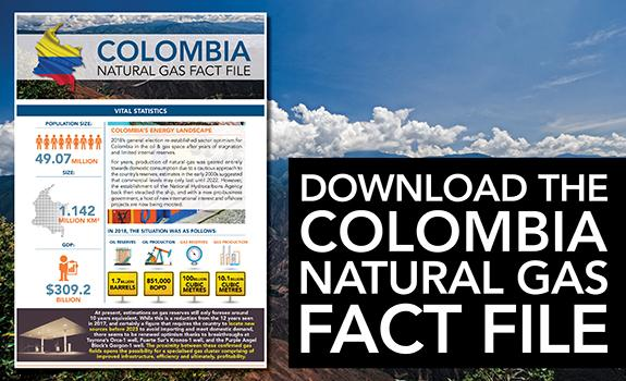Colombia Natural Gas Fact File image