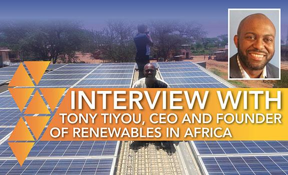 INTERVIEW: Tony Tiyou, Renewables in Africa image