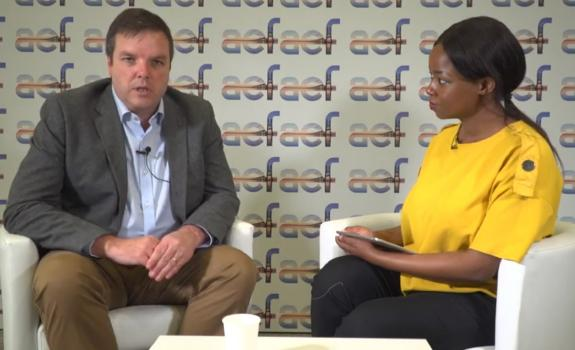aef TV interview with Duncan Abel, Energy Director, Nedbank image