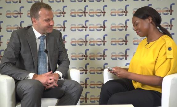 aef TV interview with Romain Py, Head of Transactions, AIIM image