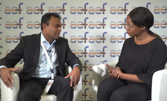 aef TV interview with Anand Naidoo, Managing Executive - Client Coverage, ABSA image