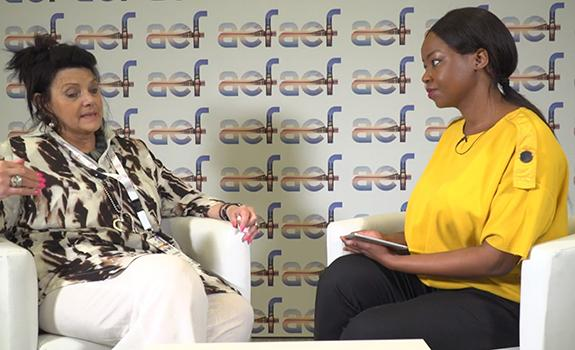 aef TV interview with Karen Breytenbach, Head of IPP Office, South Africa image