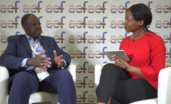 aef TV interview with Abdel Didier Tella, Director General, Association of Power Utilities Africa image
