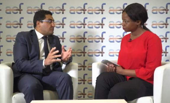 aef TV interview with Mohammed Ghazali, Ministry of Mines, Energy & Sustainable Development image
