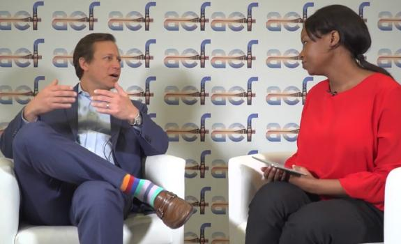 aef TV interview with Andy Herscowitz, Co-ordinator, Power Africa image