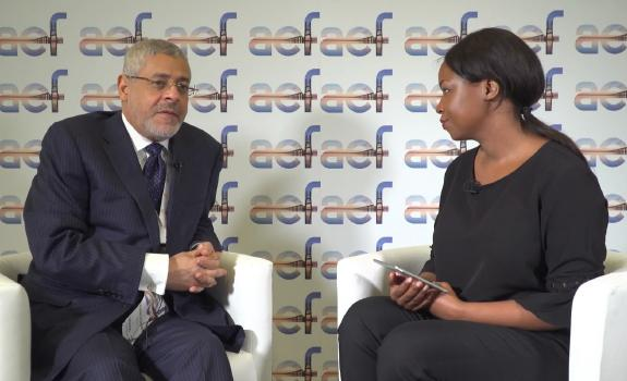 aef TV interview with Hussain Al Nowais, Chairman, AMEA Power image