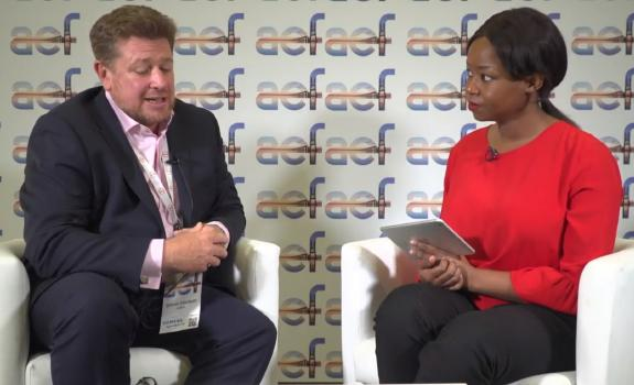 aef TV interview with Simon Hodson, CEO, Gridworks Development Partners image