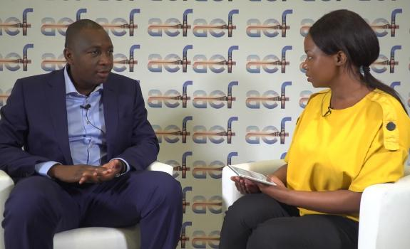 aef TV interview with H.E Hon. Bachir Ismael Ouedraogo, Minister of Energy, Burkina Faso image