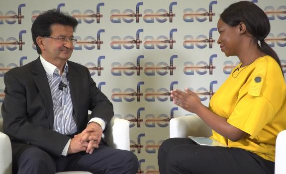 aef TV interview with Chris Antenonopolis, CEO, Lekela image