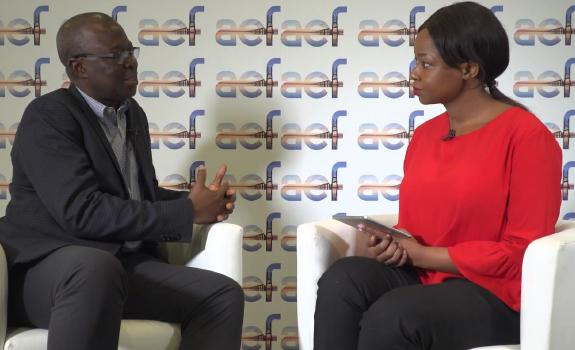 aef TV interview with Emmanuel Antwi-Dwarks, CEO, VRA image