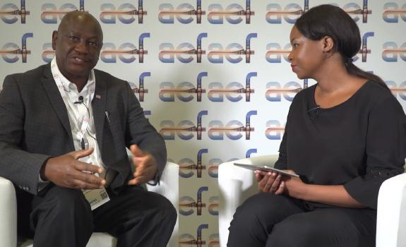 aef TV interview with H.E. Hon. Gesler E Murray, Minister of Energy & Mining, Liberia image