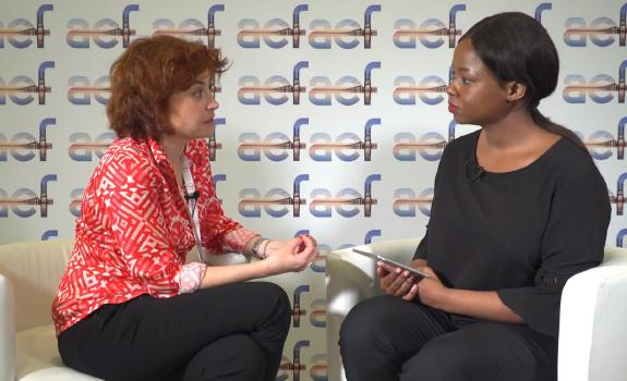 aef TV interview with Maria Pena, CEO, ICEX image