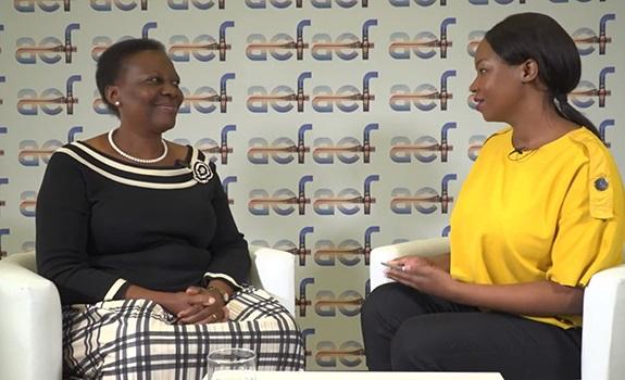 Interview with H.E. Hon. Irene Muloni, Ministry for Energy & Mineral Development, Uganda image