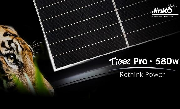 JinkoSolar Strategic Transition to Tiling Ribbon Technology Paved the Way to 580Wp Tiger Pro Series image