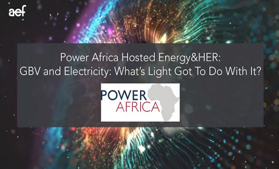 Hosted Energy&HER: Power Africa - Gender-Based Violence and Electricity image