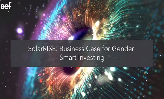 Hosted Energy&HER: SolarRise - Business Case for Gender Smart Investment image