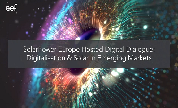 Hosted Digital Dialogue SolarPower Europe - Digitalisation & Solar in Emerging Markets image