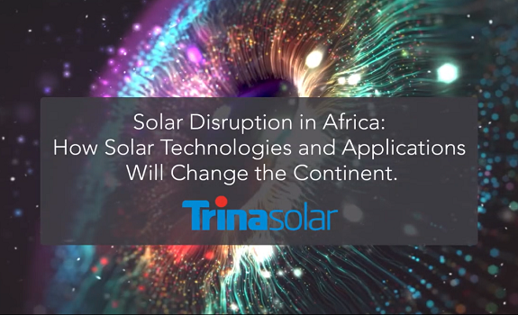Masterclass: Trina Solar - Solar Technologies Will Change Africa image